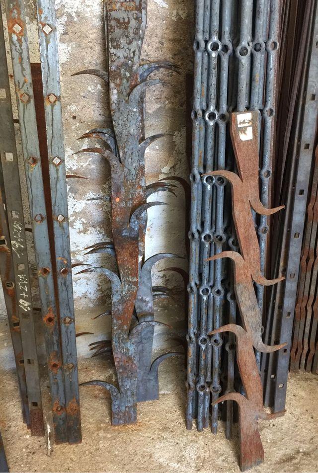 Rejas forja hierro catalanas masia casa antigua de segunda mano por 95 en centelles en wallapop - Rejas de forja antiguas ...