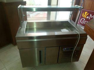 Mueble refrigerado self-service .buffet