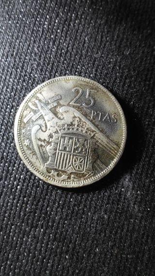 25 pesetas 1975 estrelle 70