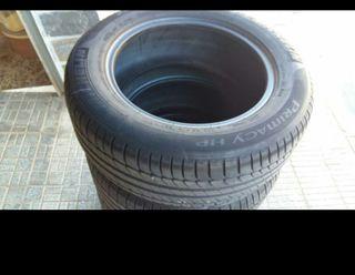 neumáticos casi nuevos medida 225/55r16 michelin