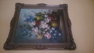 Cuadro flores - Lluis Flotats