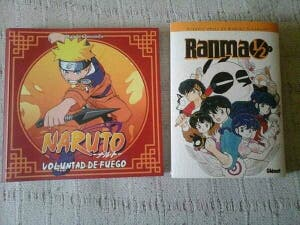 Ranma 1/2 Kanzenban y Guía Naruto Última Rebaja!!!