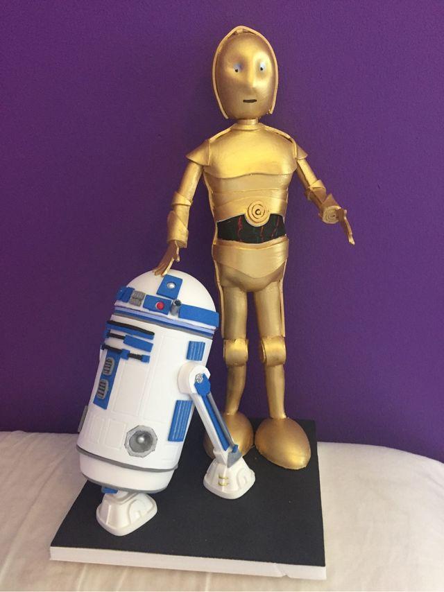 140c246c3cf Fofucha Star Wars R2-D2 C-3PO hecha a mano de segunda mano por 65 ...