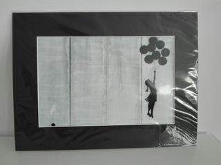 Lámina cuadro Banksy