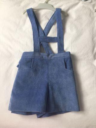 pantalon micropana azul