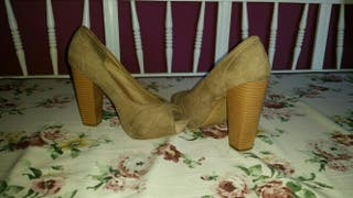 zapatos de blanco numero 38