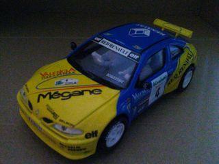 Renault Megane de Scalextric