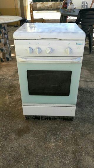 Cocinas de gas con horno de segunda mano en wallapop for Cocinas de gas butano sin horno