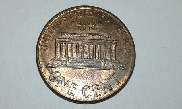 one cent EE.UU