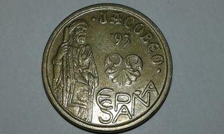 "5 pesetas ""JACOBEO '93"""