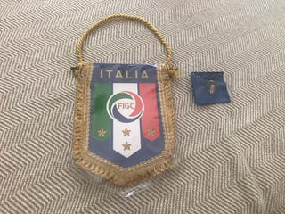 Banderin mas pin Italia