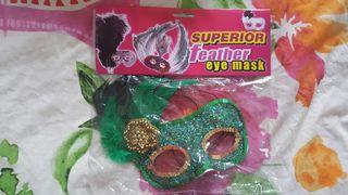 feather eye mask