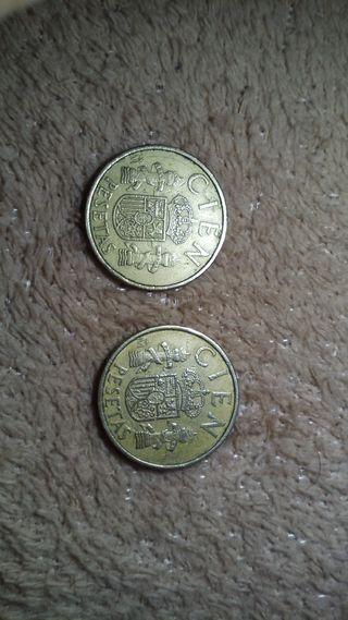 100 pesetas 1983