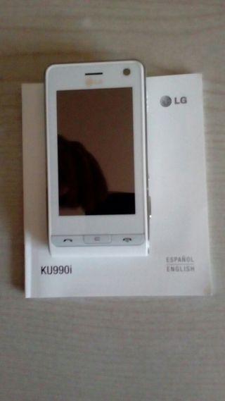Telefono movil LG táctil capacitiva. No es Android