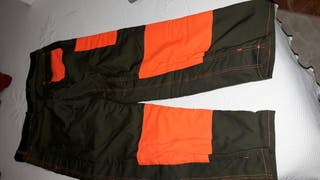 Pantalon anticorte motoserrista