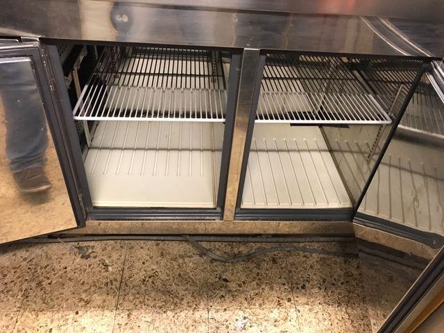 Bajo mostrador refrigerado bar