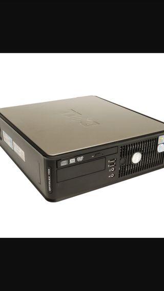 Torre intel core 2 duo, 4gb ram, 80 gb hhd