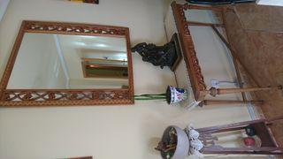 conjunto espejo y mesita