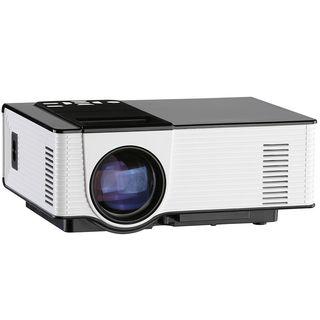Proyector Led 1500 lumen HD -130 pulgadas-USB-HDMI