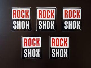Juego pegatinas Rock Shox