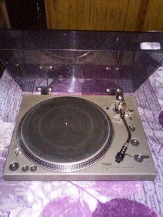 plato de disco technics