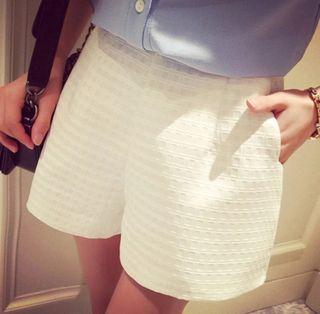Pantalones cortos blanco