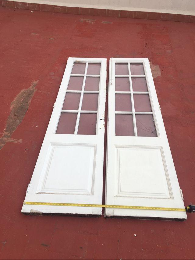 Puertas madera vintage