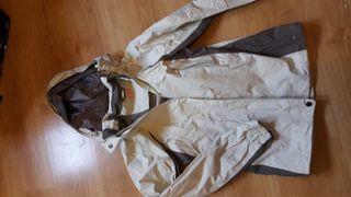 chaqueta corta vientos talla 34