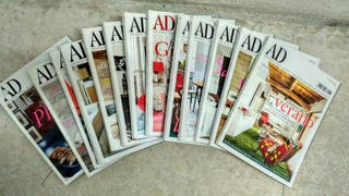Pack de revistas Architectural Digest