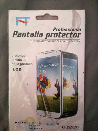 Plástico protector de pantalla