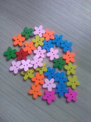 botón flor o estrella