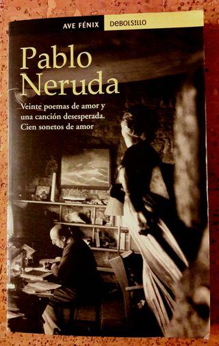 Libro de poesía: Pablo Neruda