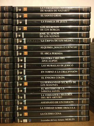 38 dvd GRANDES ENIGMAS DE LA HISTORIA