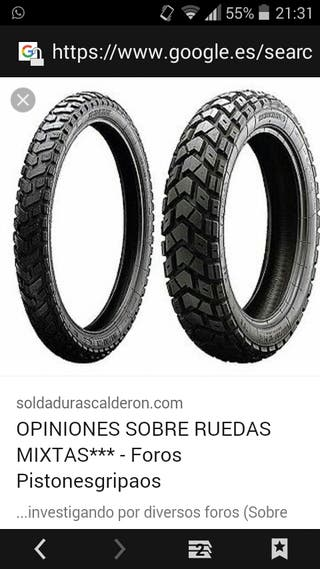 ruedas mixtas moto
