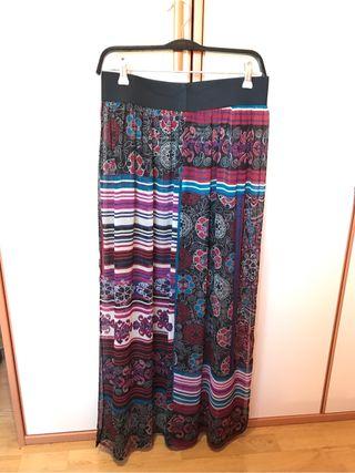 Falda larga exclusiva