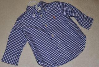 Camisa Bebe Ralph Lauren