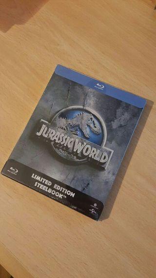 Jurassic World. Blu ray. Steelbook