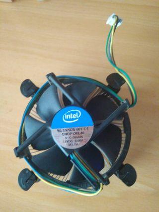 Disipador y ventilador CPU