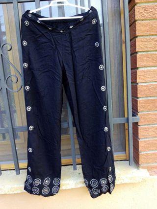 Oriental India pantalon negro