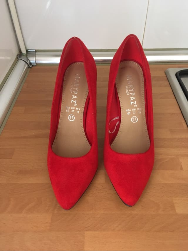 código promocional eca51 ebd8b Zapatos tacón Marypaz de segunda mano por 20 € en Colmenar ...