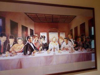 Poster enmarcado Leyendas Del Cine