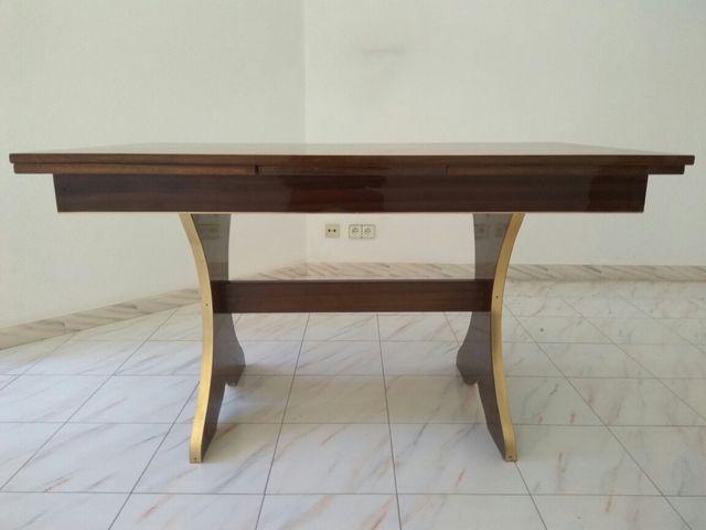 Mesa de comedor antigua. 140x82. Se extiende 40cm de segunda mano ...