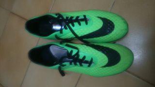 botas futbol Hypervenom Phelon AG verdes