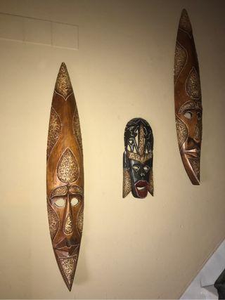 Tótem Mascaras africanas