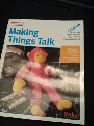 Libro de proyectos electronicos Making things talk