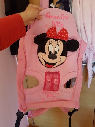 2 Mochila portabebé Disney minnie gemela o melliz