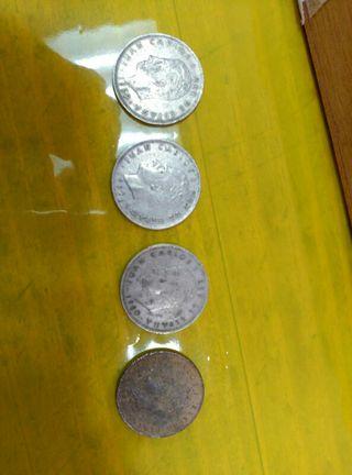 monedas de 25 pesetas grandes