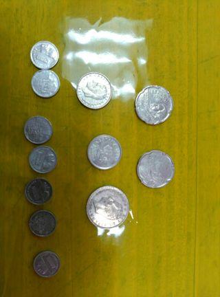 monedas de 10 pesetas
