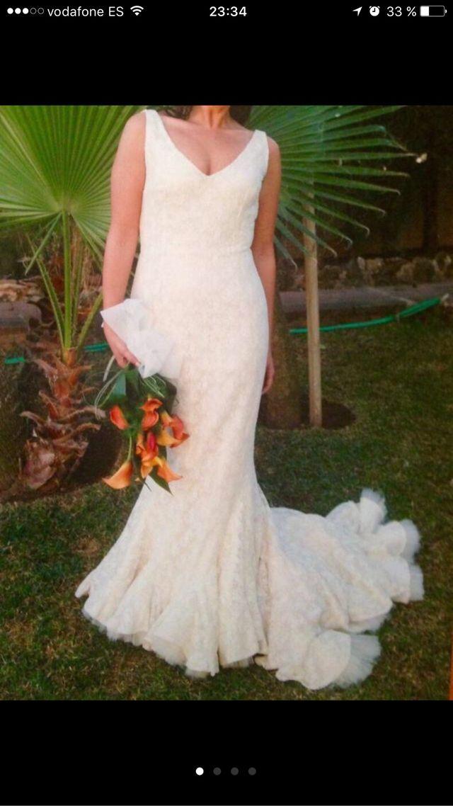 vestido novia victorio lucchino urge de segunda mano por 580 € en
