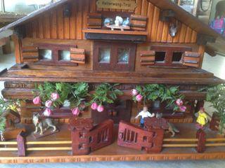 Maqueta casa Tirolesa